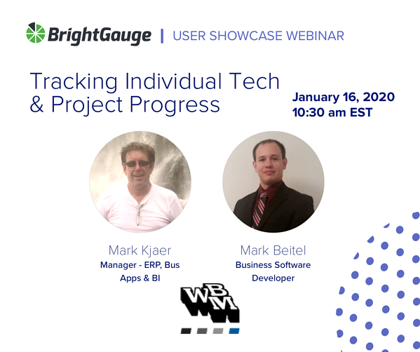 BrightGauge Customer Showcase Webinar WBM