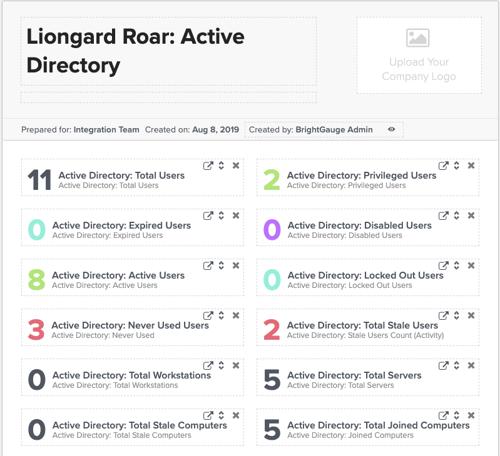 sample liongard report in brightgauge