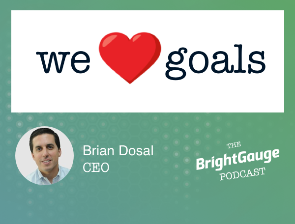 [Podcast] #45: The Importance of Goal Setting with BrightGauge CEO, Brian Dosal