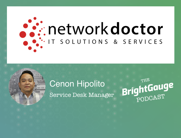 Podcast #46: Achieving Great Customer Support Through Team Building with Cenon Hipolito, NetworkDr